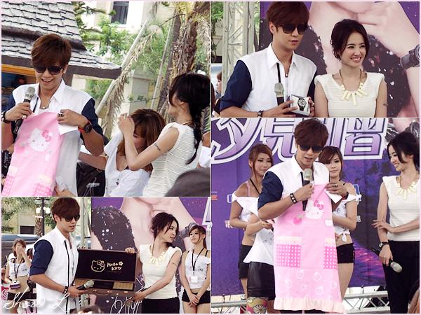 .  .29.07.2011 ✿ Show Luo était à l'évènement «Men's Uno».