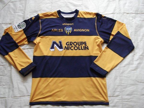 Maillot domicile Luigi Pieroni saison 2011/2012 (70euros)