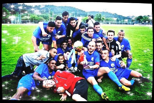 L'équipe du doublé historique, coupe et championnat, saison 2012/2013