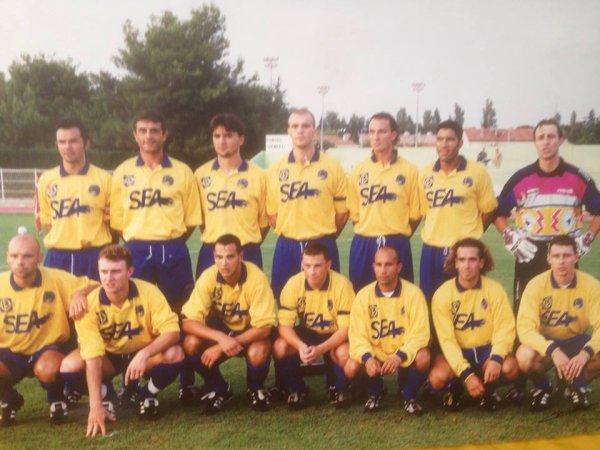 A.C.ARLES C.F.A. 2 (1996/1997) avec deux figures du club (Lupi et Saez)!