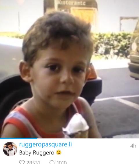 Je craque pour bébé Ruggero xD!