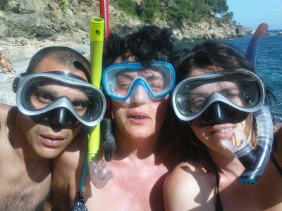 Les tribalous à la mer : hop !