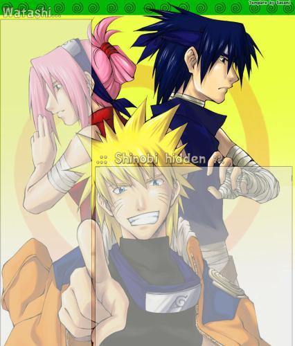 Bienvenue fan de Naruto