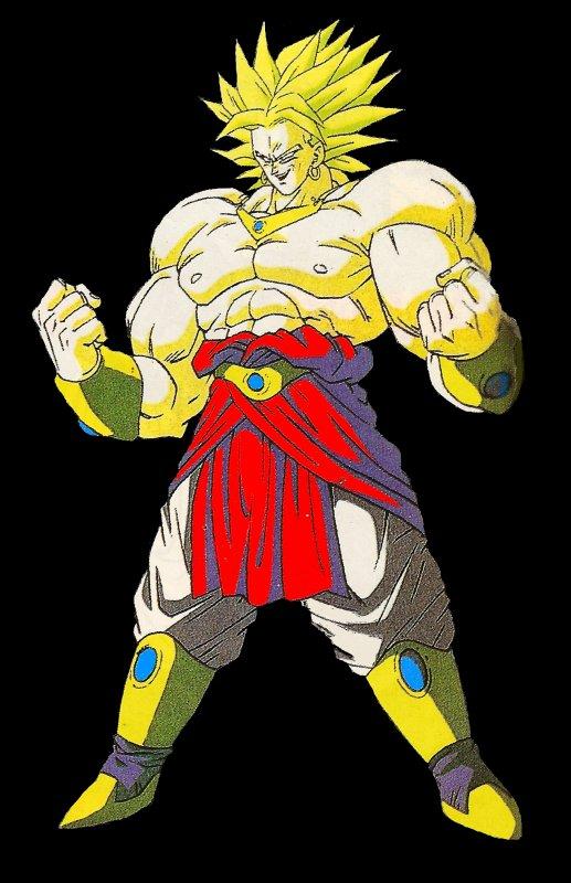 Broly super saiyan 2 guerrier l gendaire l 39 univer de dragon ball - Dragon ball z broly le super guerrier vf ...