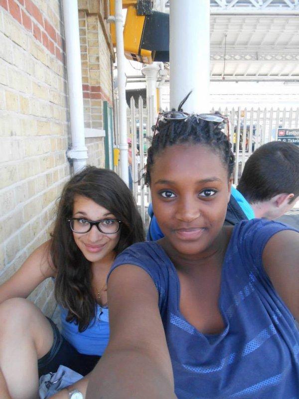 En Angleterre avec Nina <3