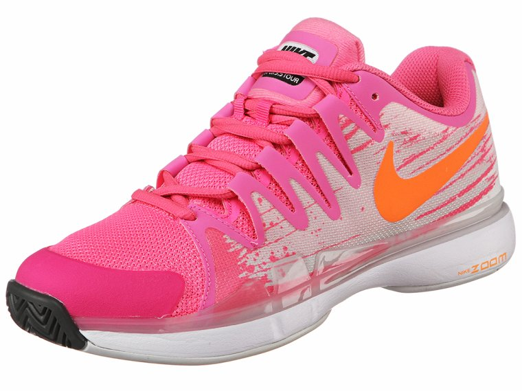 Chaussures Femme Nike Zoom Vapor 9.5 Tour Rose/Orange ...