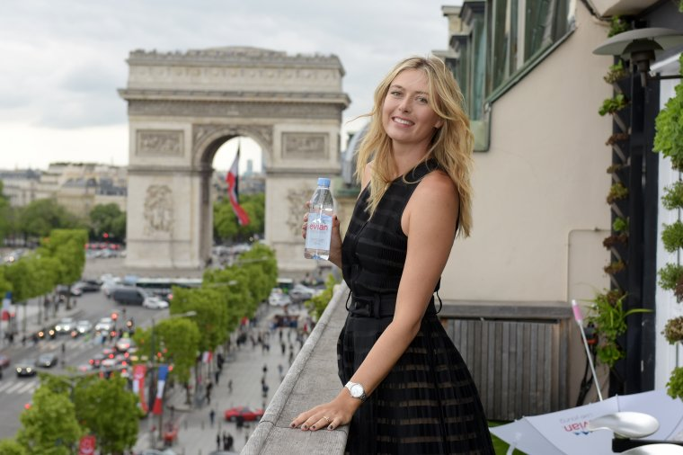 maria sharapova la maison du danemark paris balle de. Black Bedroom Furniture Sets. Home Design Ideas