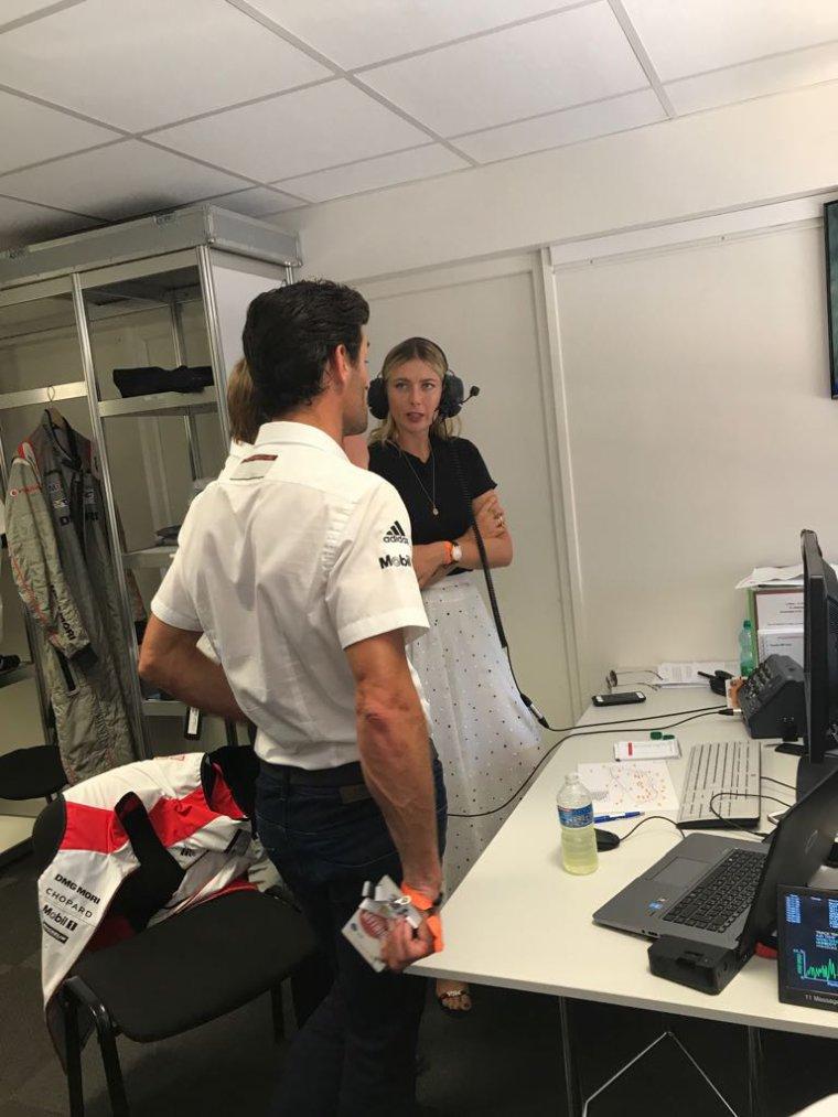 Maria Sharapova à paris