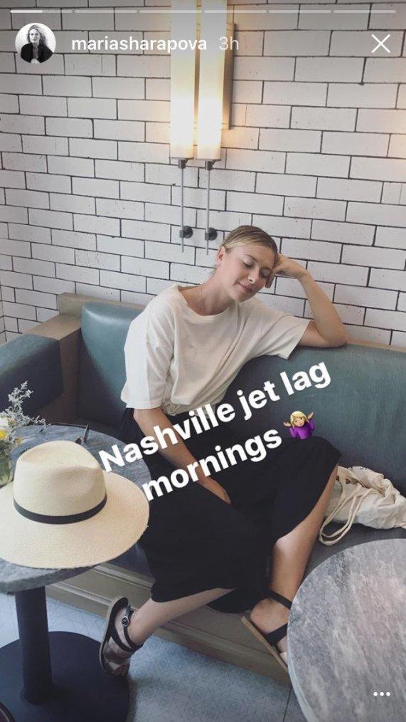 Maria Sharapova à Nashville (États-Unis)