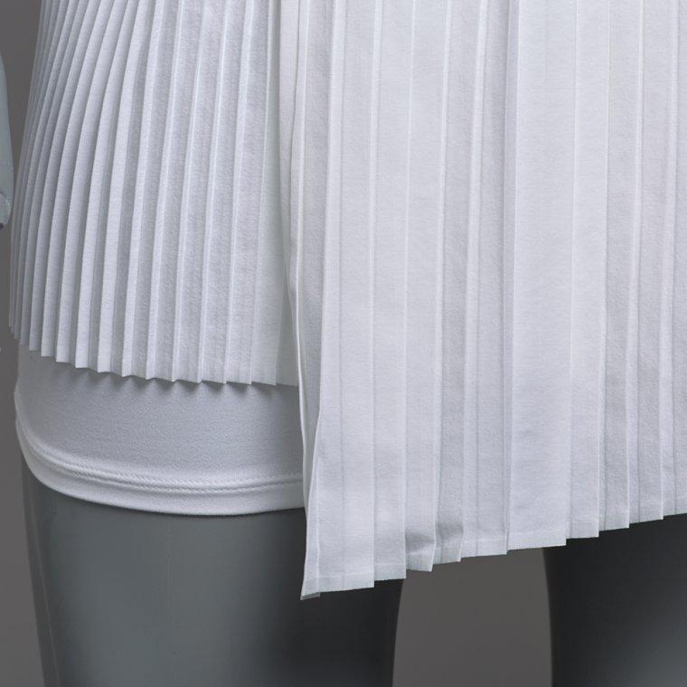Nike Robe couleur Blanc / Noir (Wimbledon 2017)