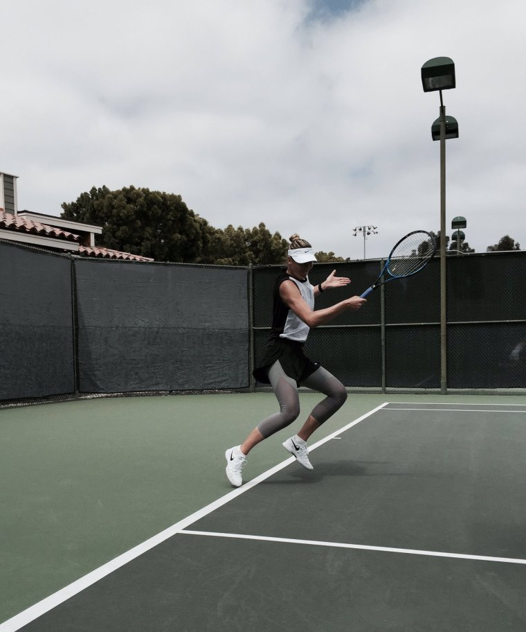 Maria Sharapova à los angeles