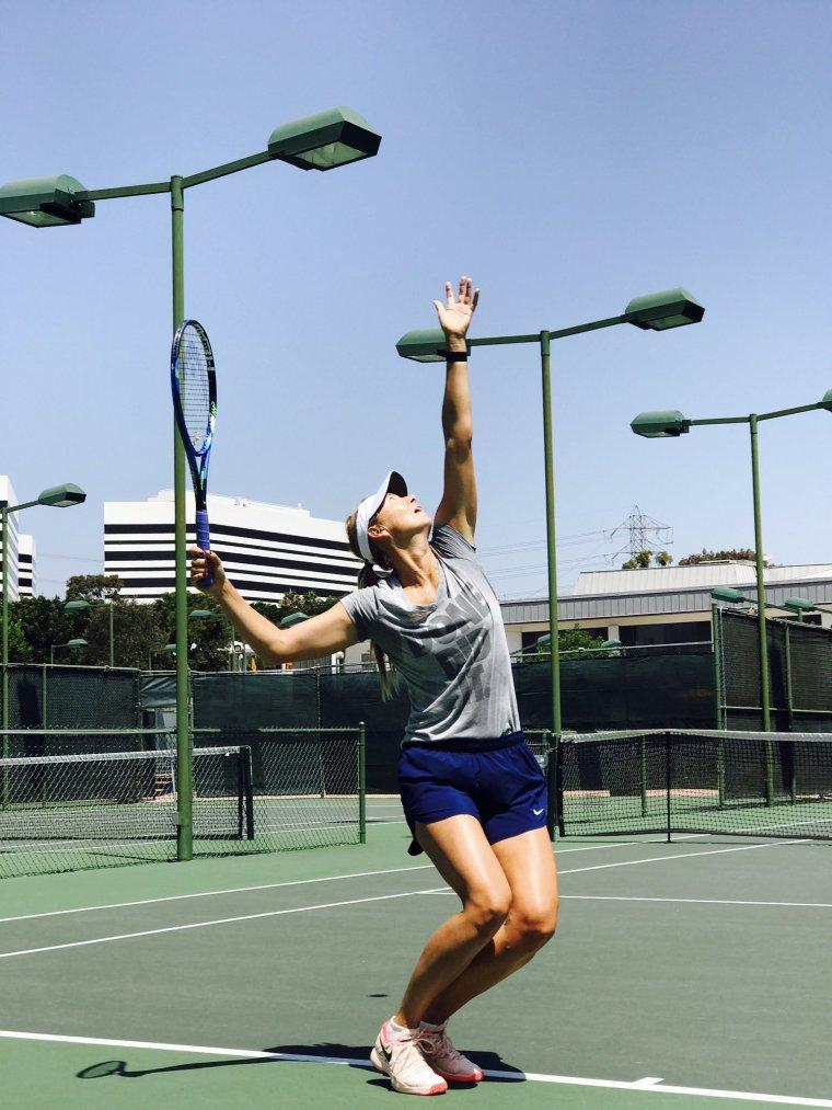 Maria Sharapova à los angeles