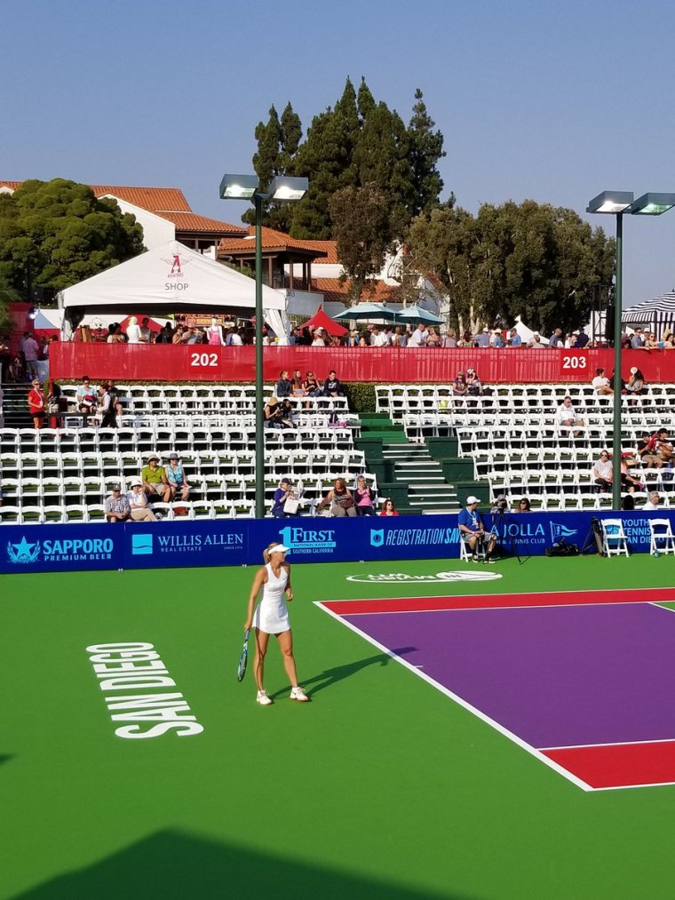 World Team Tennis 2017 Breakers Orange County à san diego