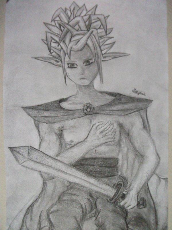 Fantasy 1 : Elfe guerrier