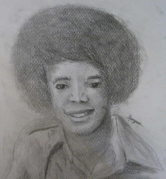 Portrait 3 : Mickaël Jackson (petit)