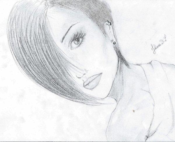 Visage femme des dessins de d butant - Profil dessin ...