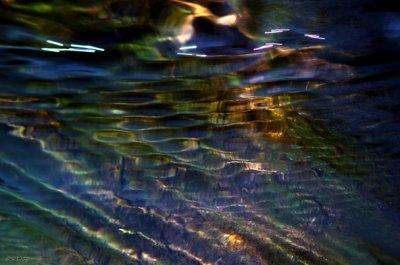 (203) Reflet déformé d'une vision décalé