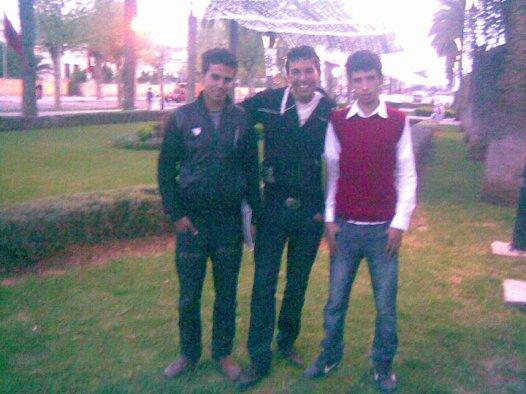moi et hassan aknouch  a fes  2009