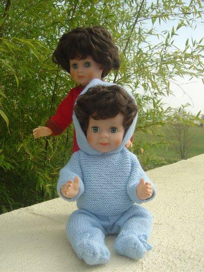 Ensemble tricoté
