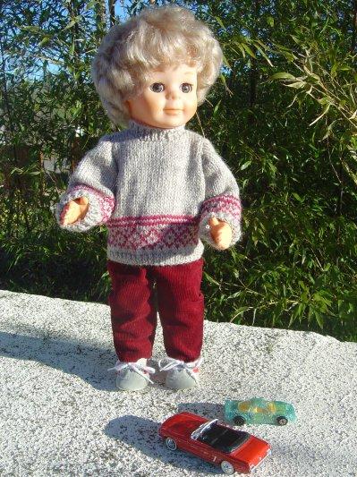 Le pull Novembre 1977   -   le pantalon Janvier 1957