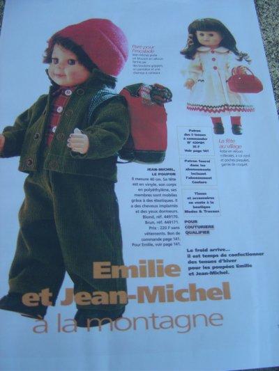 Novembre 2000 - Emilie et Jean-Michel à la montagne !