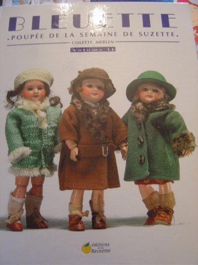 Bleuette - le livre de Colette Merlen