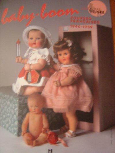 Baby-boom - Poupées Françaises  1946-1959