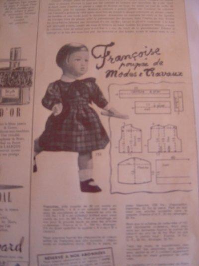 La robe de Novembre 1952