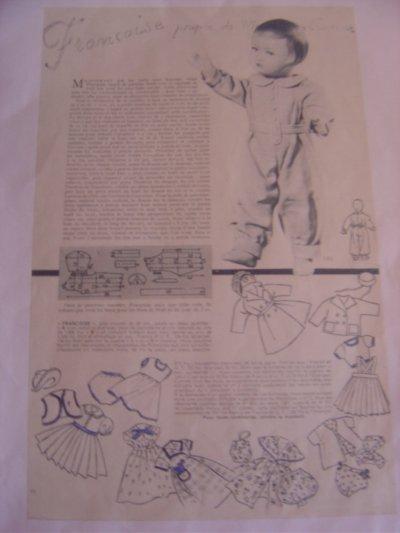 """Vestiaire de l'année 1951 - 9/10 """"le pyjama"""""""
