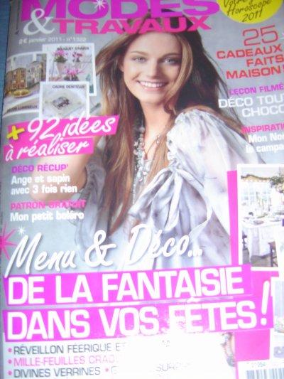 Modes & Travaux de Janvier 2011