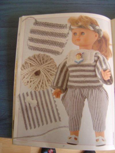 """Les habits d'Emilie - """"Marine en gris"""""""
