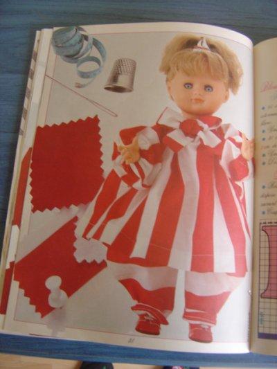 """Les habits d'Emilie - """"Bonbon rouge"""""""