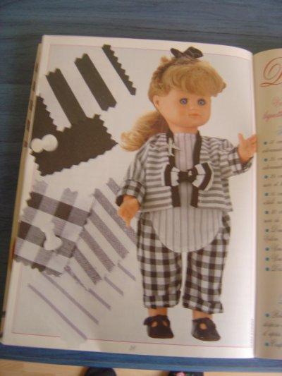 """Les habits d'Emilie - """"Damiers et rayures"""""""