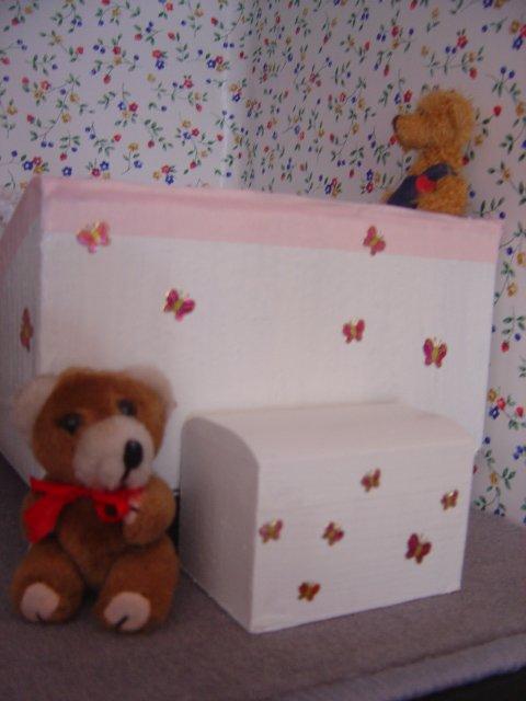 Le lit de Loulotte