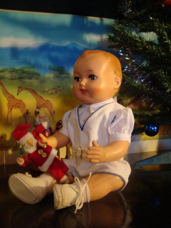 Les fêtes de Noël  -  bébé Michel