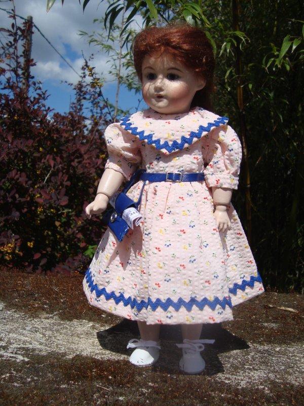 Les robes d'été de Bleuette