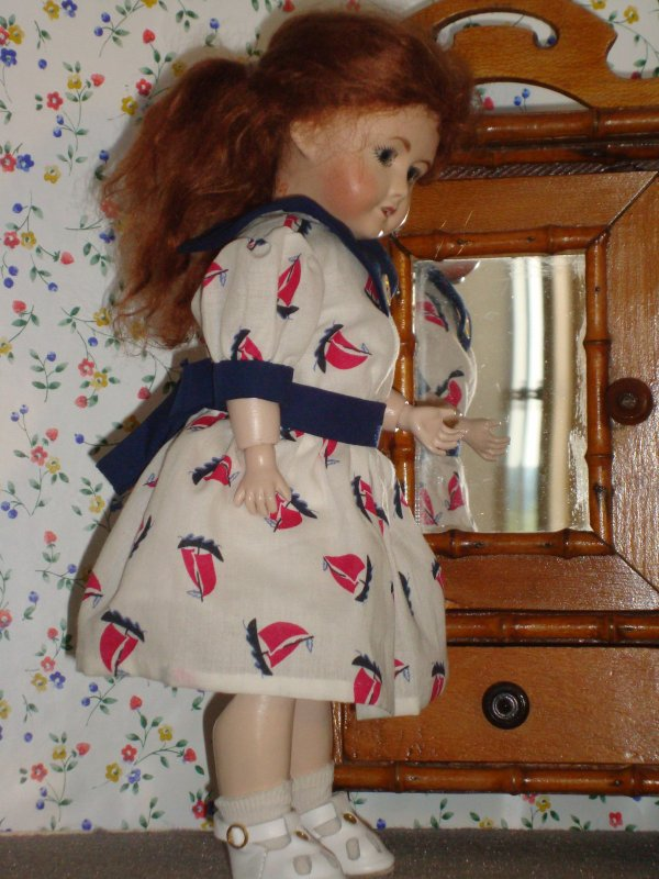 La nouvelle robe de Bleuette