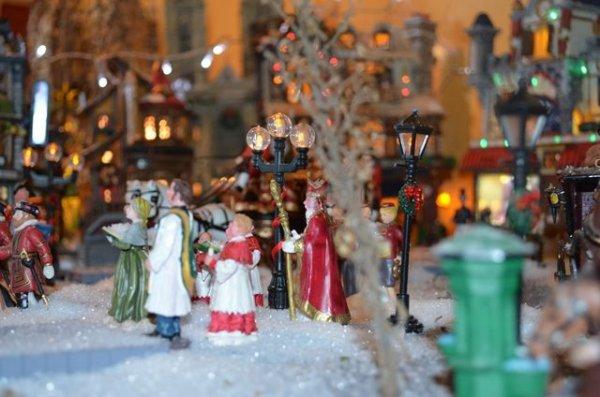 Un village de Noël
