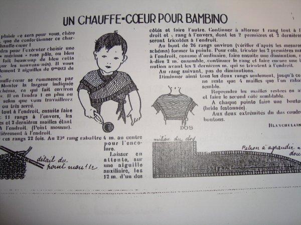 LE CACHE-COEUR DE BAMBINO