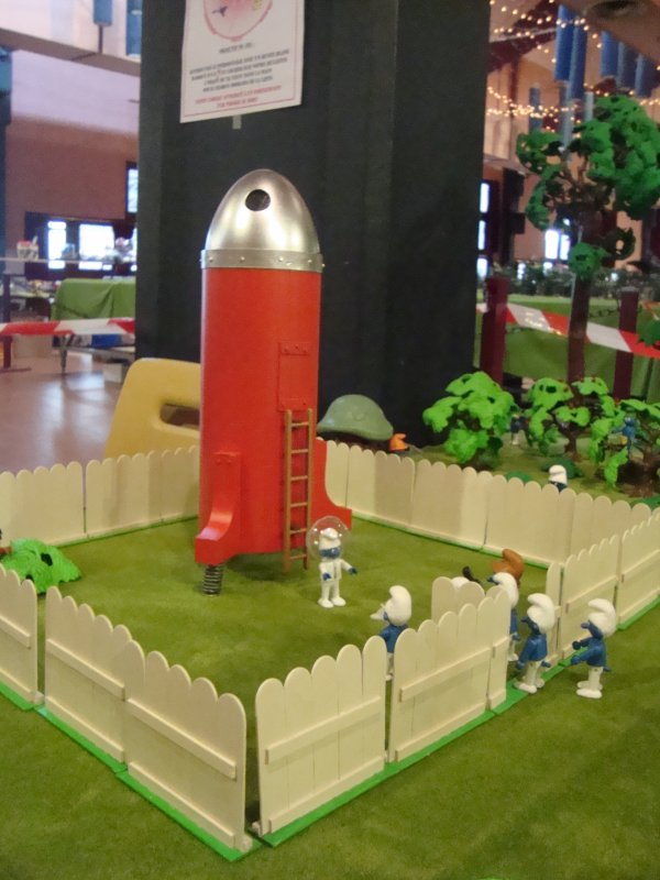 L'exposition Playmobils le 1er-2-3 et le 4 Mai