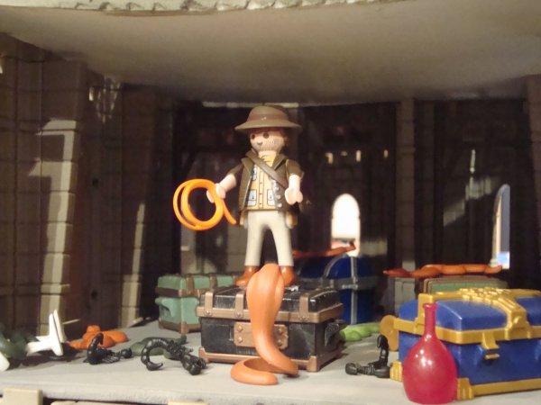 L'exposition Playmobils  (suite)