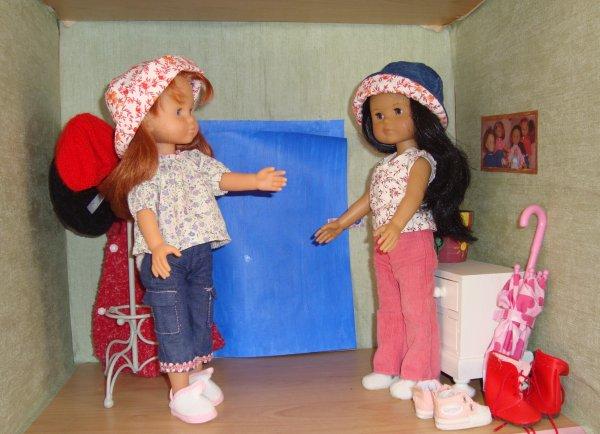 Des chapeaux pour les Chéries !