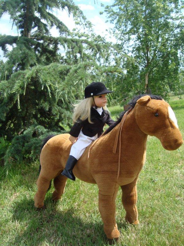 Les tenues d'équitation des demoiselles Götz