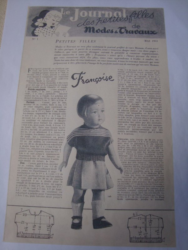 Le pull de Mai 1953