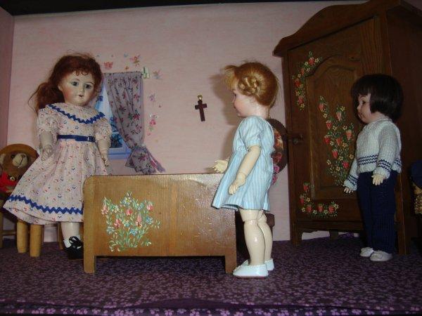 Les robes de Loulotte et de sa cousine !