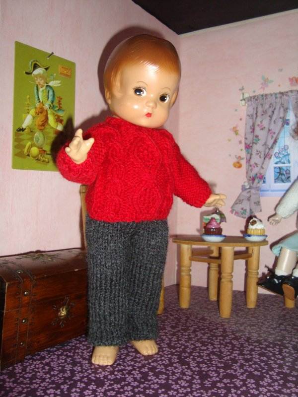 La nouvelle tenue de Patsy