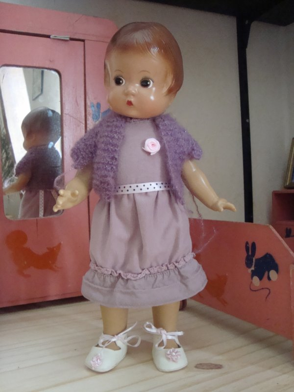 La robe de Patsy pour les fêtes