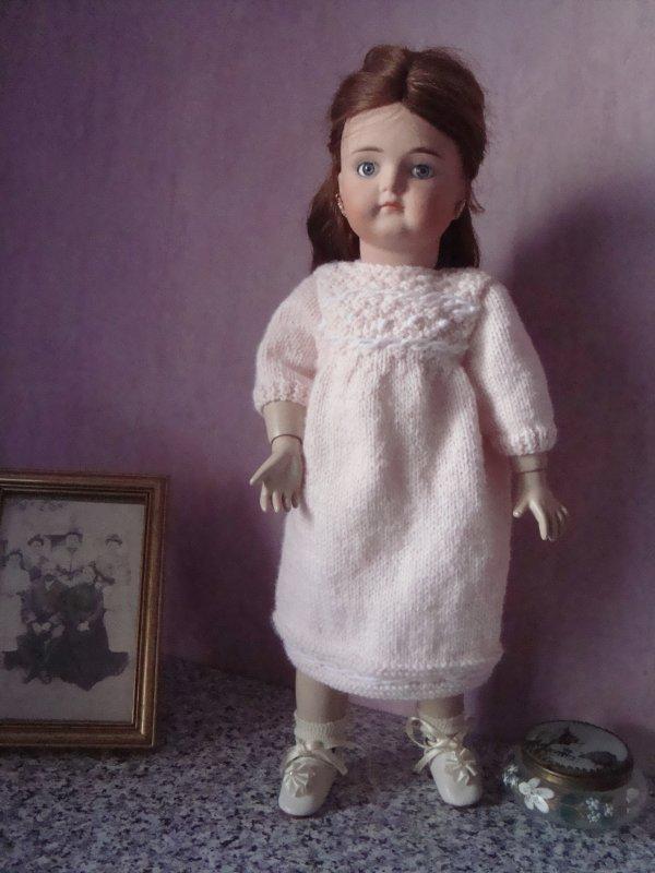 Une robe en laine pour Nanette !