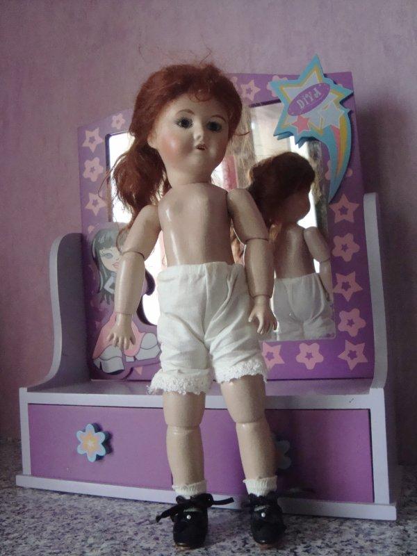 Quelques sous-vêtements de poupées !