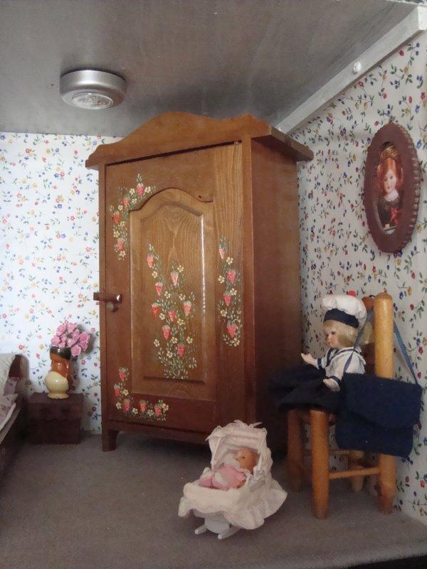 La nouvelle chambre de Bleuette